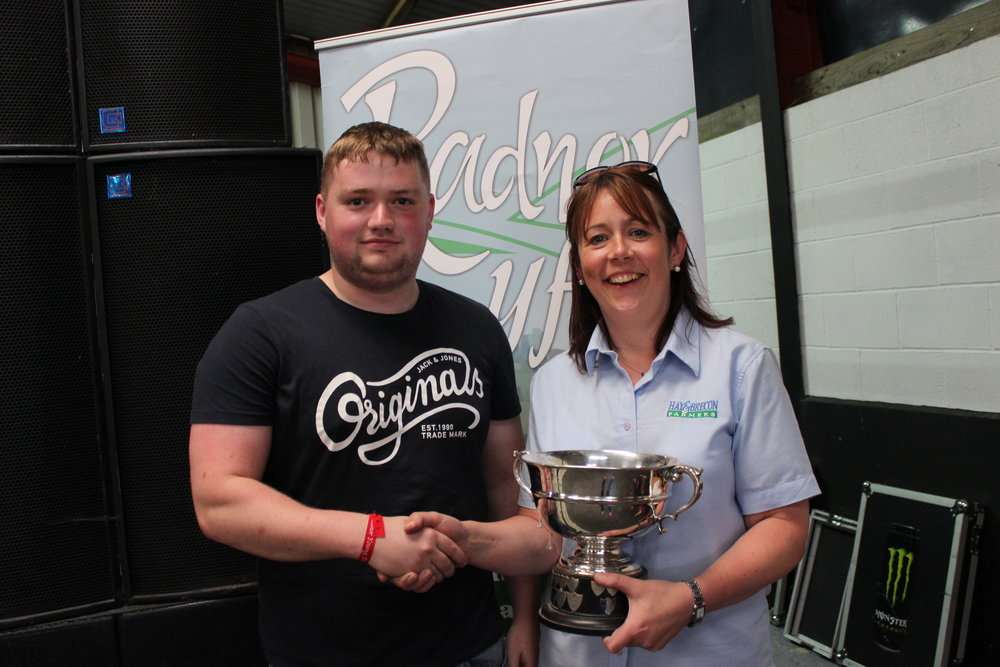 Tom Groves, Presteigne YFC - Mrs Evan Davies Memorial Rose Bowl / Cookery & Craft Competitions