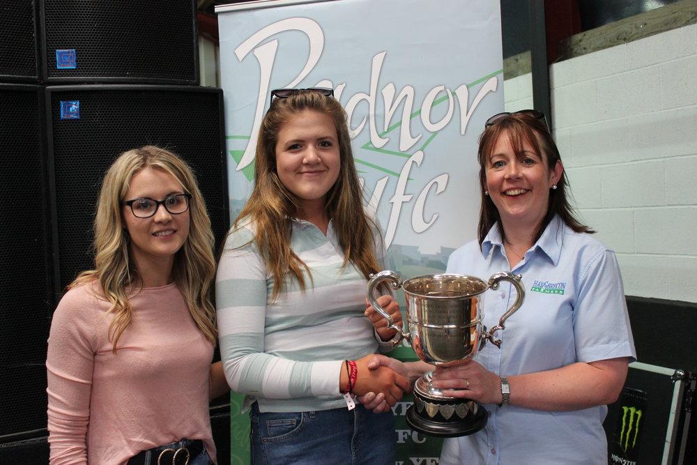 Laura Watson & Gemma Price, Llanbadarn Fynydd - T O Nicholls Trophy / Rally Day Stockjudging