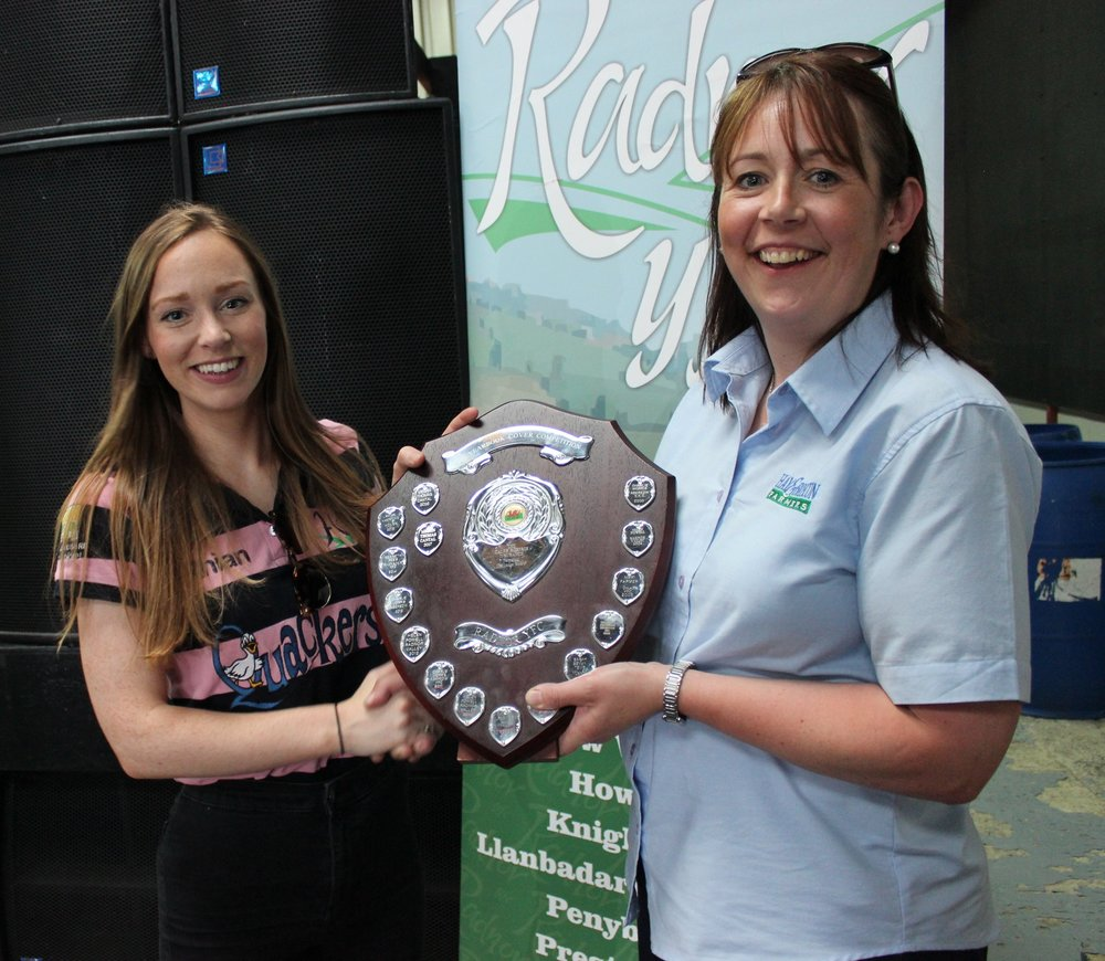 Rhian Hammond, Howey YFC - Caleb Roberts Shield / Yearbook Cover Competition
