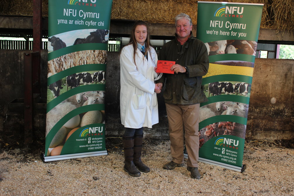 Lucy Griffiths, Presteigne YFC - Junior Beef Judging