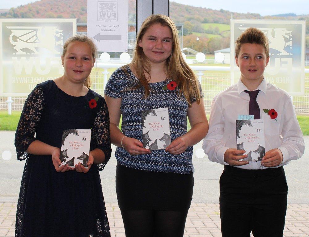 Dolau YFC - Emily Davies, Nia Thomas & Louis Watkins