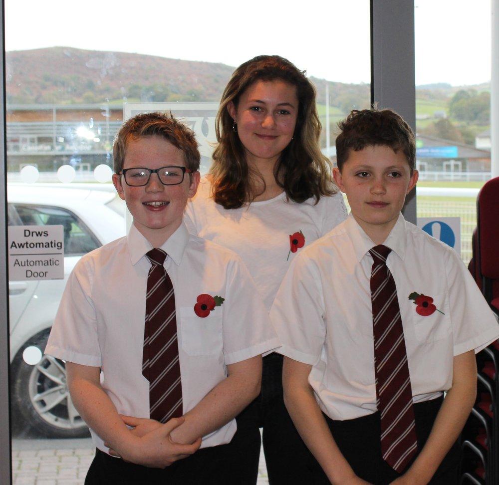 Rhosgoch YFC - Harri Bird, Hannah Davies & Thomas Davies