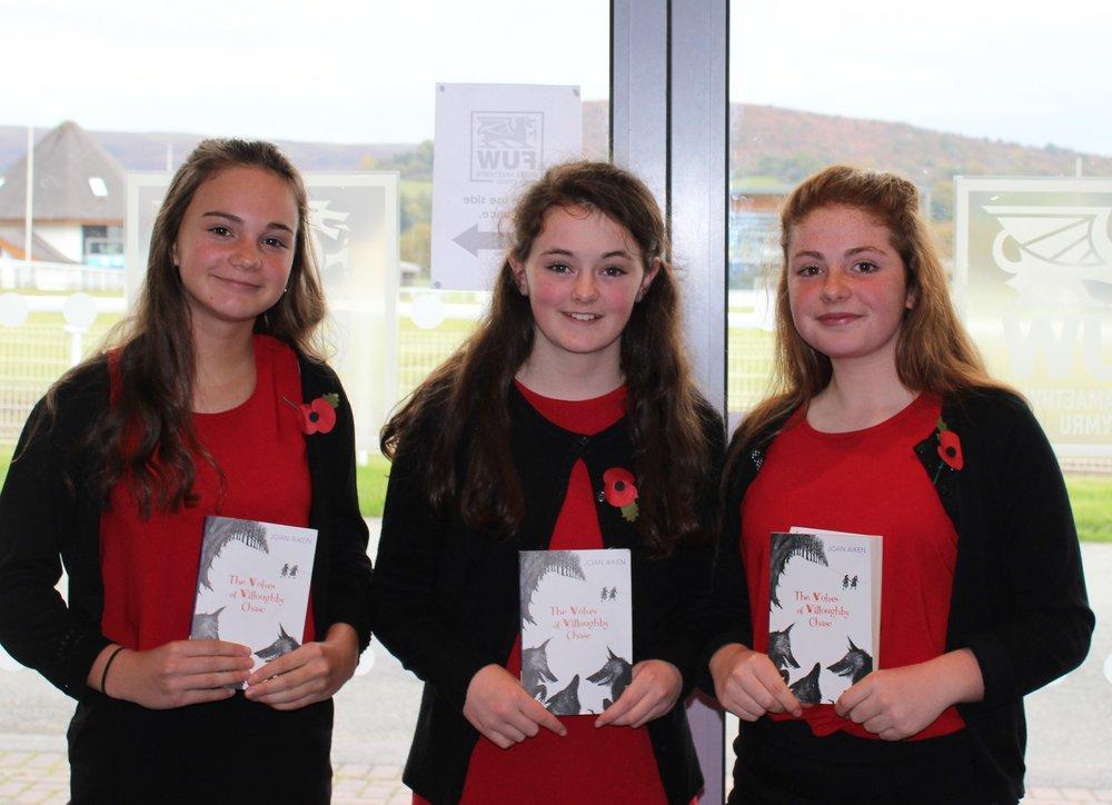 Edw Valley (A) YFC - Bella Hammonds, Fenella Price & Carys Moore