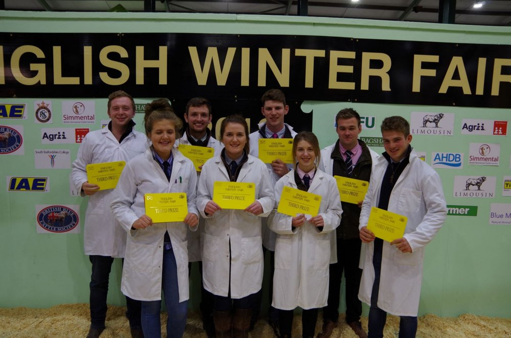Third place overall for Radnor YFC.