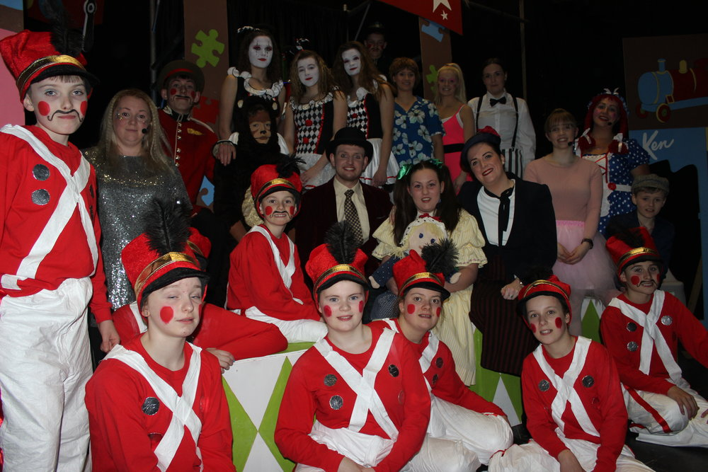 Rhayader YFC with their Entertainment 'The Greatest Toy Shop'