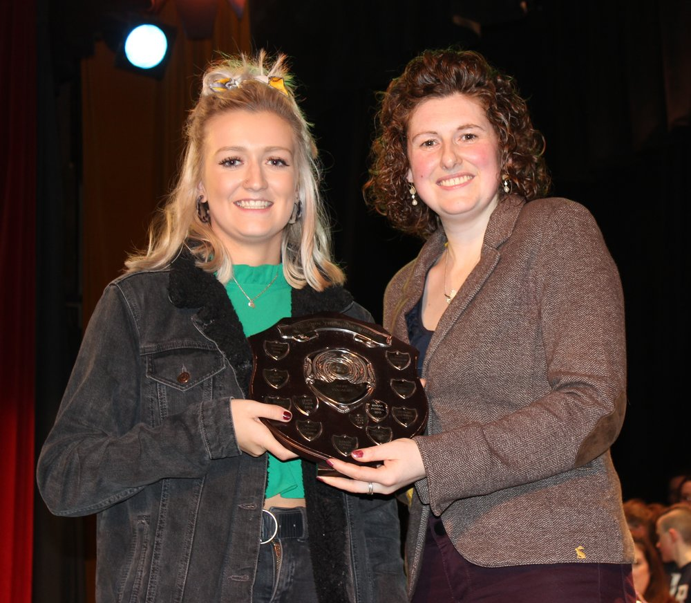Harriet Williams, Radnor Valley YFC - John Thompson Shield for Best Vocalist.