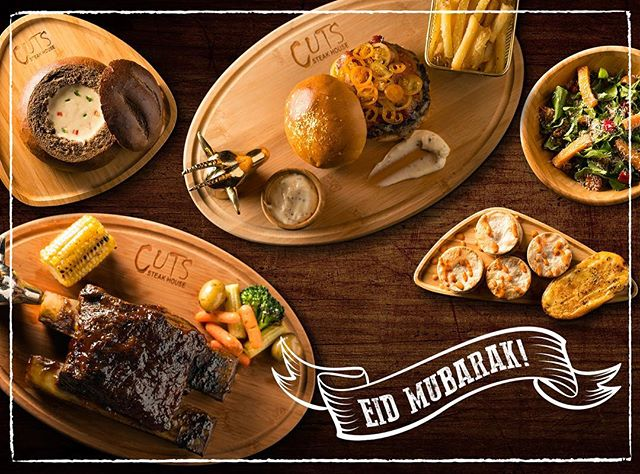 Celebrate the long weekend with us... Happy Eid! #eidmubarak #churrasco #stealks #cutssteakhouse #kuwait #q8restaurant #restaurant #foodie