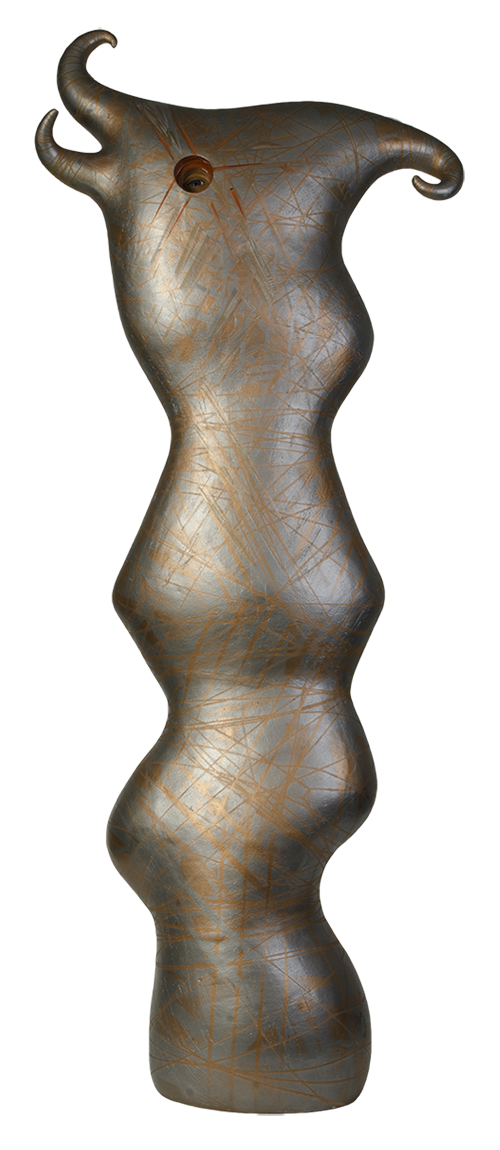 Susan Budge Metallic Muse, 2015 Ceramic, 52 x 20 x 9 inches