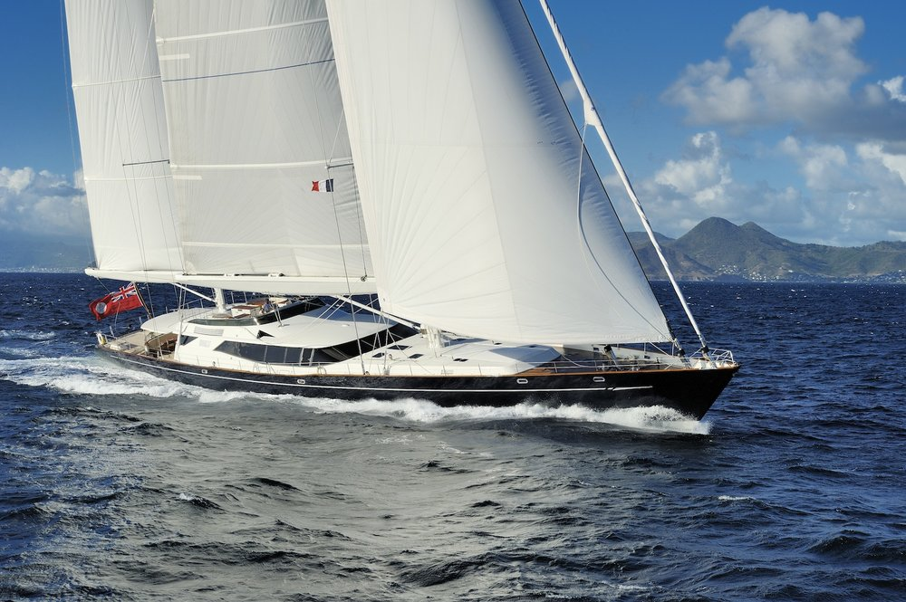 DRUMBEAT GUESTS: 11 | CABINS: 5 | CREW: 10  LOA: 53.00m | SPEED: 14kn | PRICE: €175,000 p/w