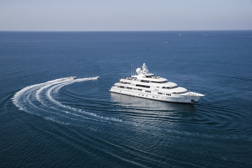 TITANIA   GUESTS: 12 | CABINS: 7 | CREW: 20   LOA: 73.00m | SPEED: 13kn | PRICE: €600,000 p/w