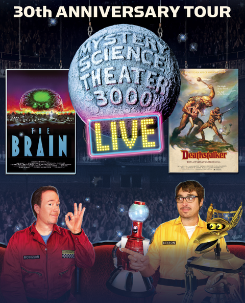 """ If the tour is coming anywhere near your town, and you consider yourself an MST3K fan, you absolutely owe it to yourself to get a ticket. ""  -  GEEK.COM"