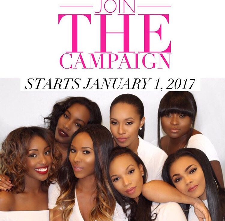 We launched our campaign that begins on the 1st of the New Year