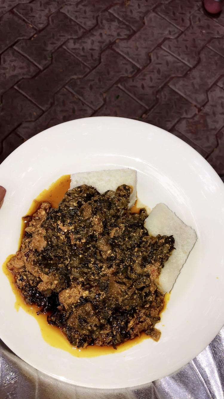 Spinach stew. Tastes so good!