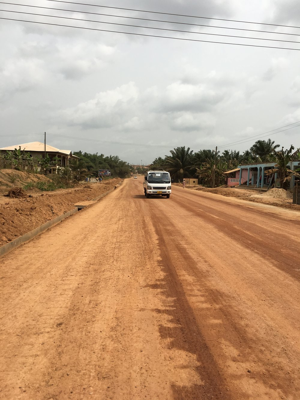 streets in Ghana