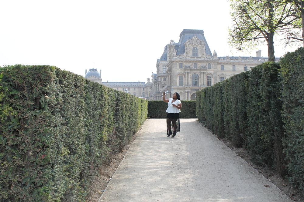 The Louvre Museum Garden, Paris