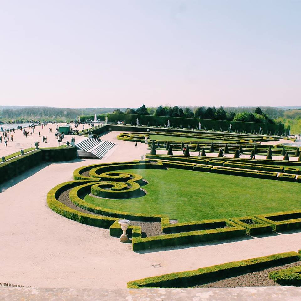 The Garden at the Palace of Versai, France