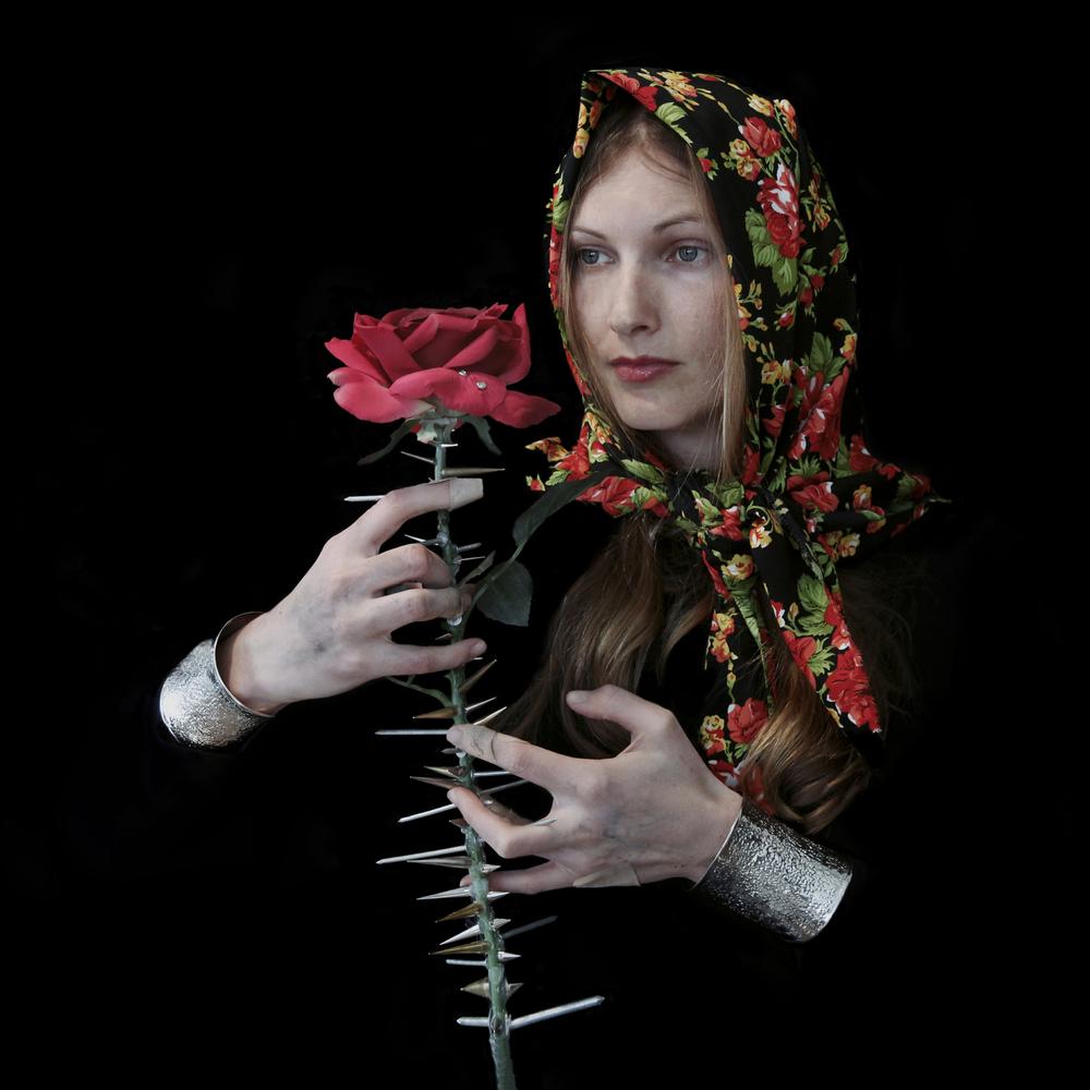 'My name is Rose' 100x100cm, Diasec photographic print