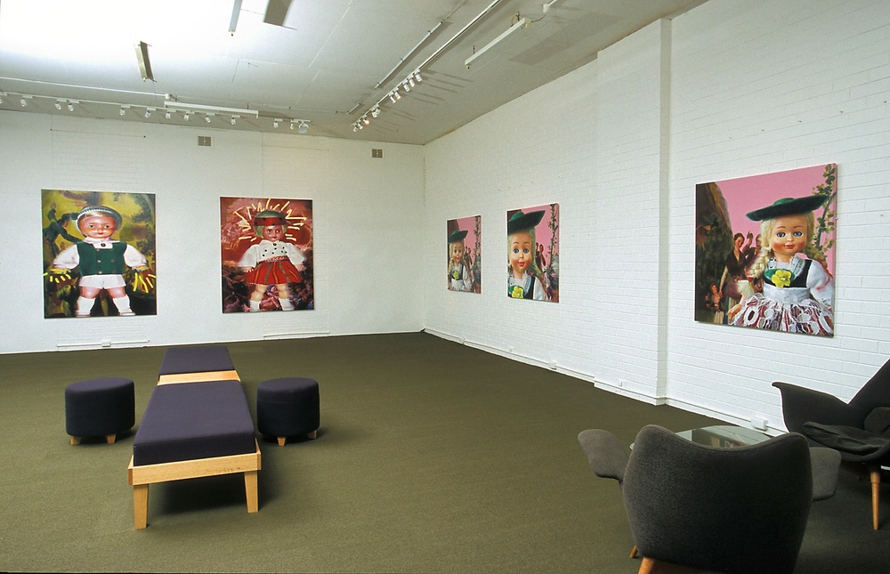 Installation view 'Heav'n & Hell' Helen Gory Galerie 2004