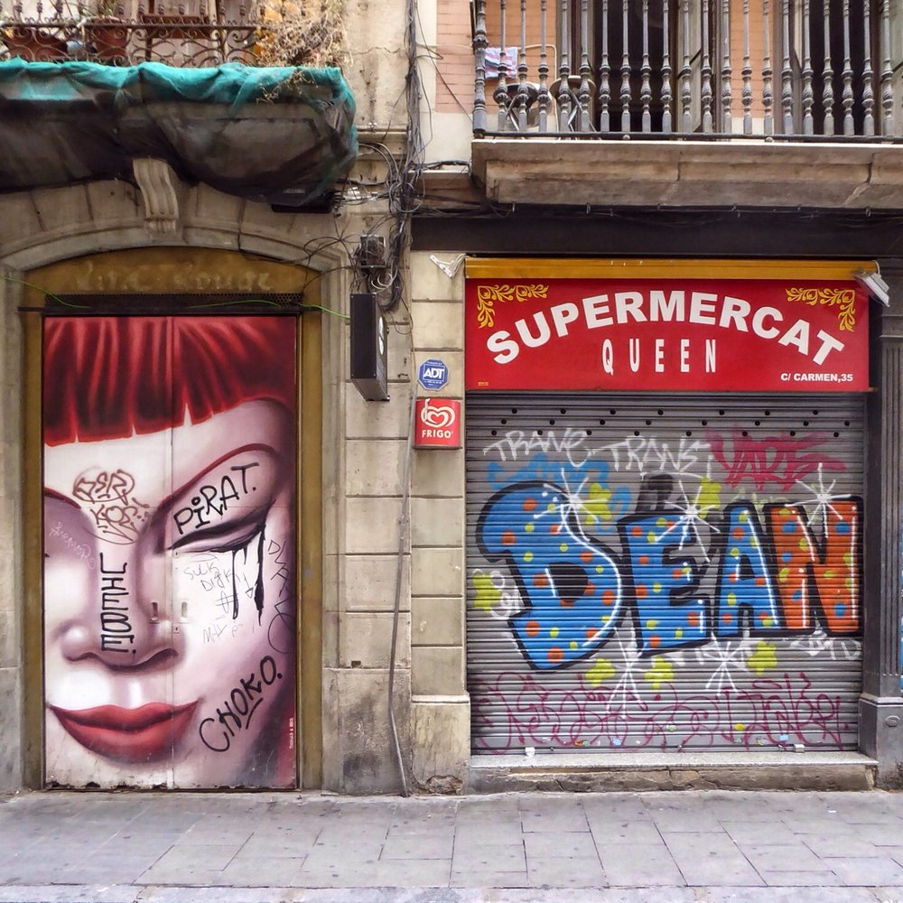Barcelona, Carrer del Carmé