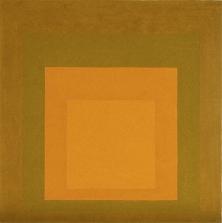 Josef Albers  'Homage to the Square' 1965