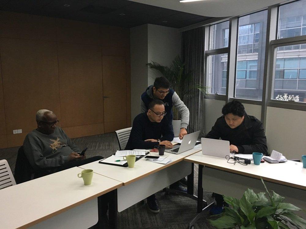 GHTE & TCI Finalising BId, China
