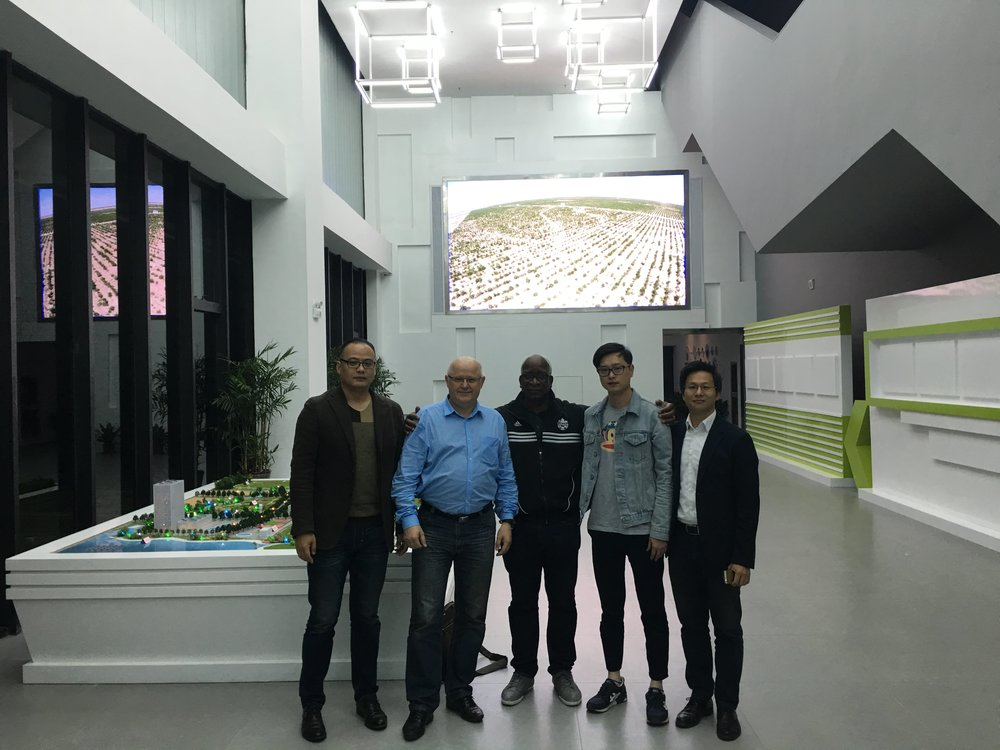 GHTE Executives at TCI Head Office , China