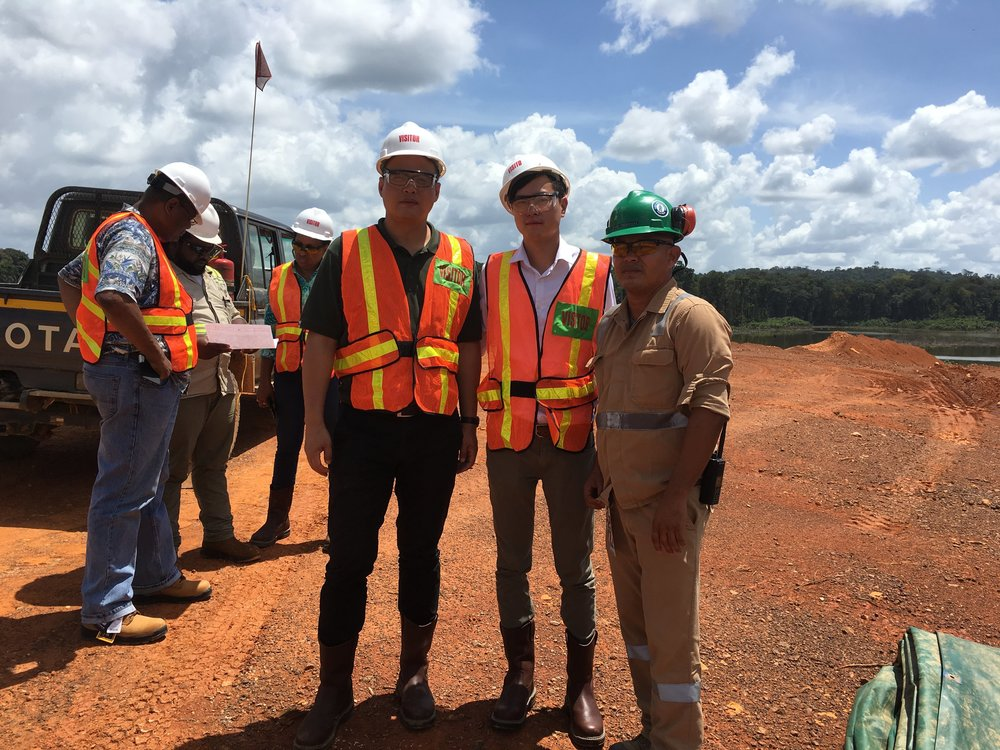 TCI & GHTE Executive in Guyana's Interior