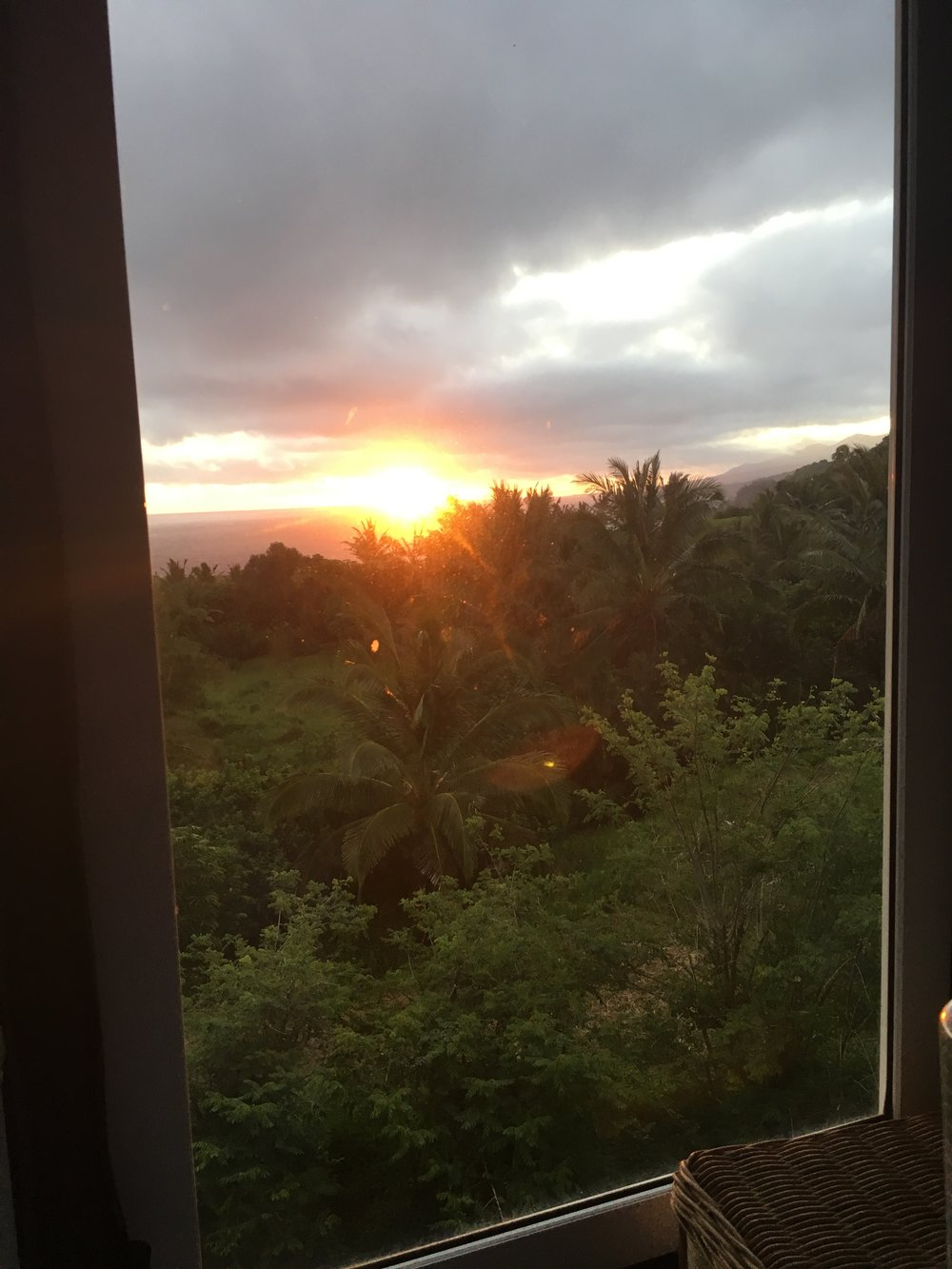 Sunrise from Room