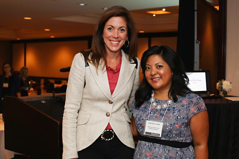 With Sarah Richardson, keynote speaker at BlogPodium 2013; photo credit: Annawithlove