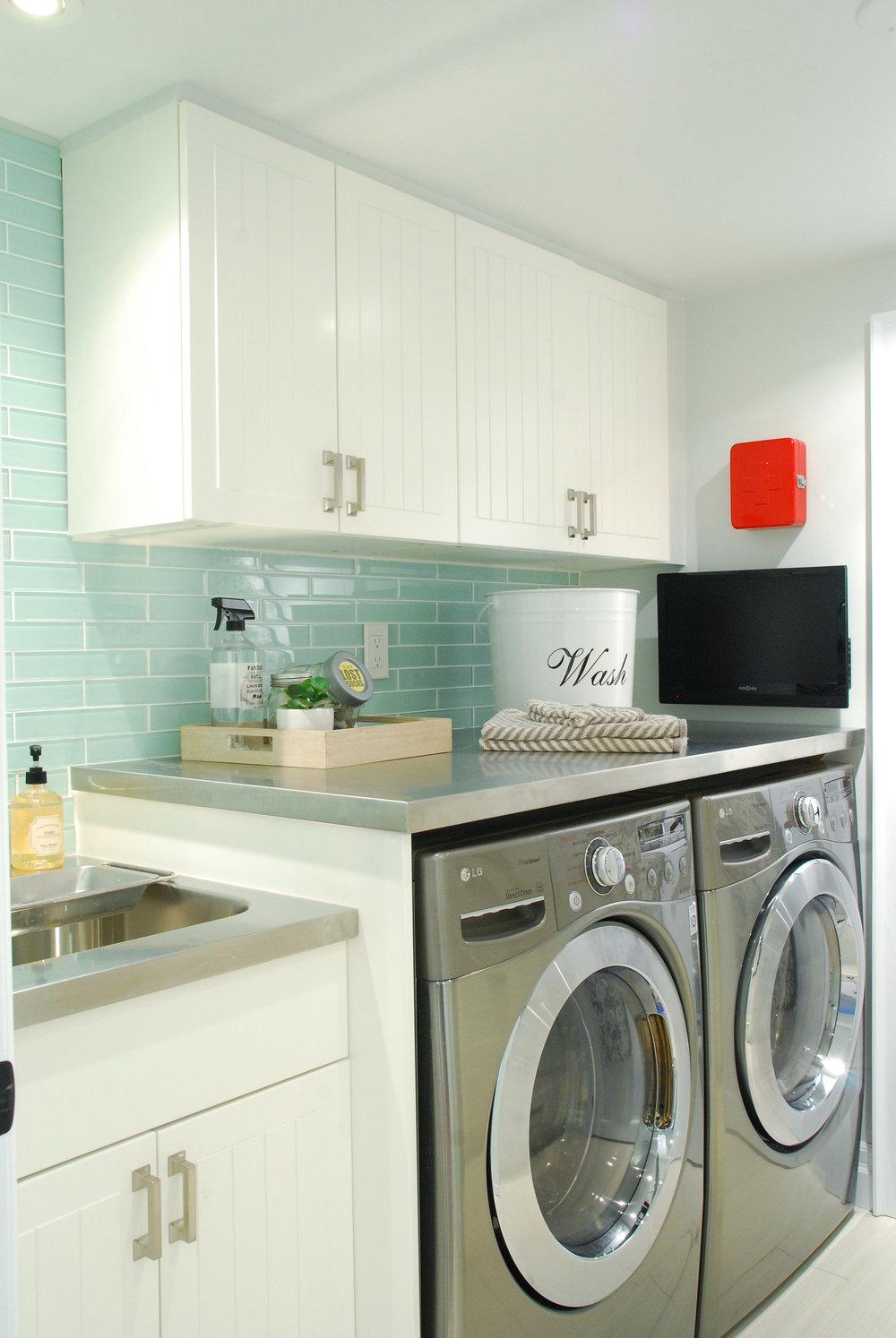Jen's laundry room makeover; photo: Jen Flores