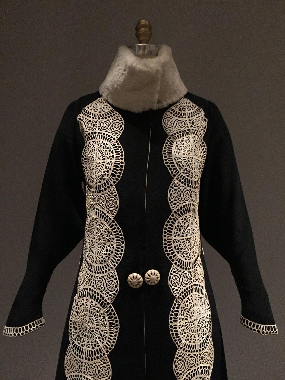 Paul Poiret coat, circa 1919, haute couture