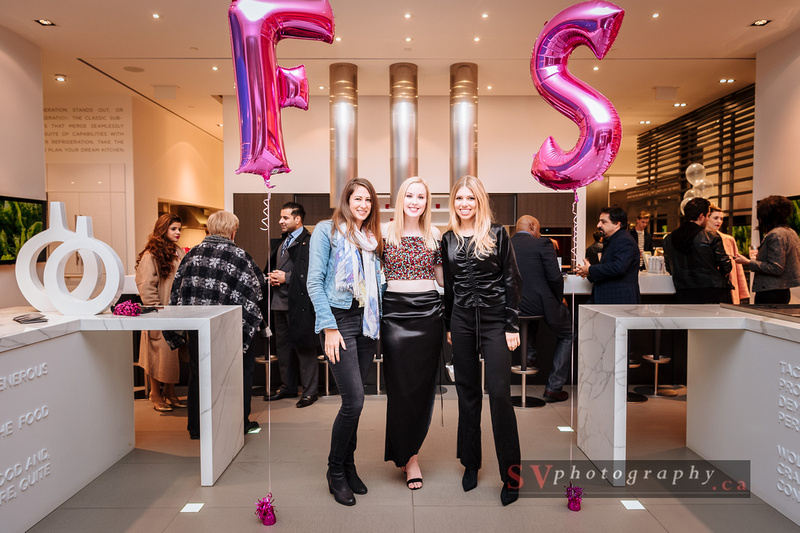 Wantfolio Group Inc. Editor Lesley Metcalfe with Meaghan and designer Tara Rivas. Photo credit:  Edwin Luk / SVPhotography