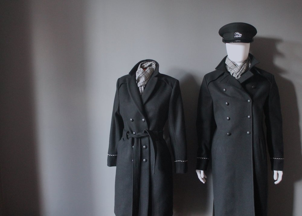 Doorman/doorwoman uniforms for Saks Fifth Avenue's flagship Canadian store in Toronto