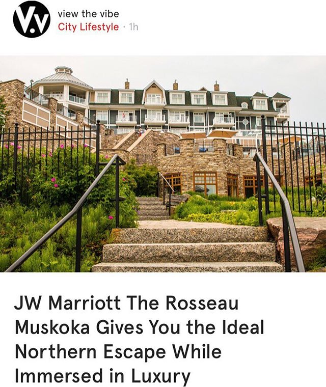 @jwmarriotthotels The Rousseau Muskoka Gives You the Ideal Northern Escape While Immersed in Luxury. Reading on @viewthevibe on the @want.canada app. #wantcanada . . . . . #muskoka #muskokalife #cottagecountry #summerescape #summervacation #travel #traveltuesday #resort #luxuryresort #luxuryresorts #rosseau