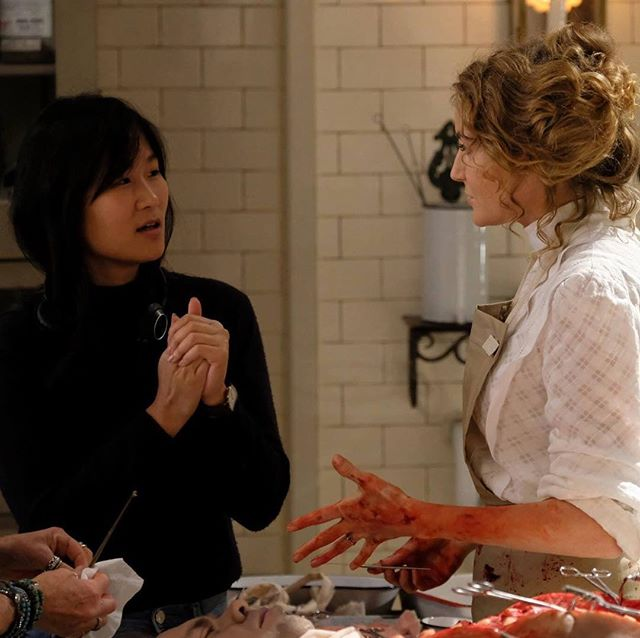 Behind the scenes: Director @sherrenlee (left) working her magic on set of Murdoch Mysteries. We got to know Sherren and about her latest film The Things You Think I'm Thinking and we're sharing in our #WeWantToKnow feature at www.wantfolioblog.com or link in profile. #wantcanada @projectfourpr . . . . . #film #theatre #filmdirector #filmdirectors #director #directors #torontofilm #torontofilmfestival #torontodirector #filmindustry #filmandtelevision #gettoknow #gettoknowme #directorprofile #sherrenlee #projectfourpr #directing #behindthescenes #murdochmysteries