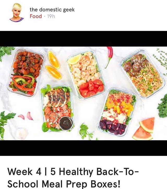 It's food week on @want.canada! There are so many fabulous food bloggers featured in our app's Food category that you'll want to know. Get back-to-school ready with @thedomesticgeek1 and her healthy meal prep boxes, on her YouTube channel. #wantcanada . . . . . . #food #foodblog #foodblogger #foodbloggers #canadianfoodblogger #foodbloggersca #fbc #recipe #recipes #mealprep #mealprepboxes #healthy #healthyeating #backtoschool #bts #thedomesticgeek