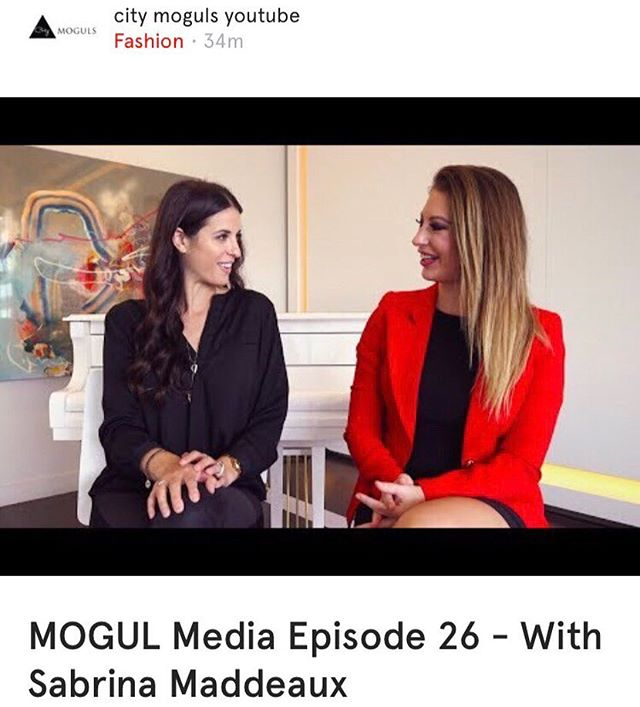 MOGUL Media Episode 26 – Interview with @sabrinamaddeaux. Catch the latest @citymoguls interview; City MOGULS YouTube content featured on the @want.canada app. #wantcanada . . . . . . #citymoguls #interview #sabrinamaddeaux #toronto #torontoinfluencer #influential #influentialpeople #influentialwomen #writer