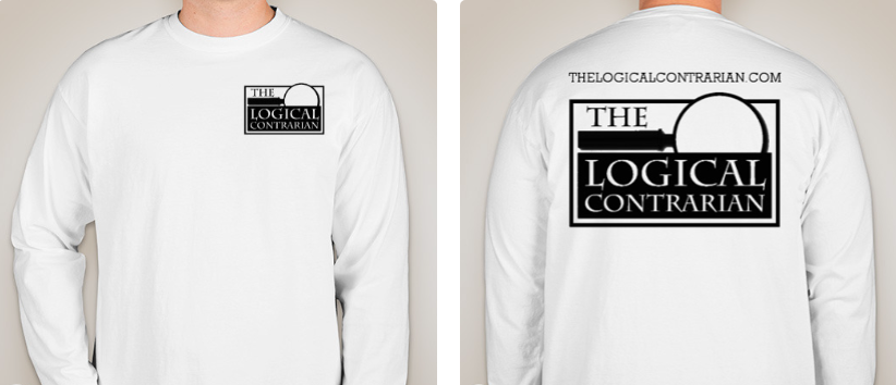 NEW!! - Wear The Logical Contrarian on you!