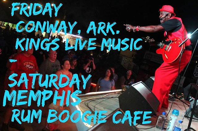 We're touring down south this weekend. NORMAN'S BIRTHDAY SHOWS FRI @kingslivemusic @conwayarkansas  SAT @rumboogiecafe Memphis  TheNormanJacksonBand.com