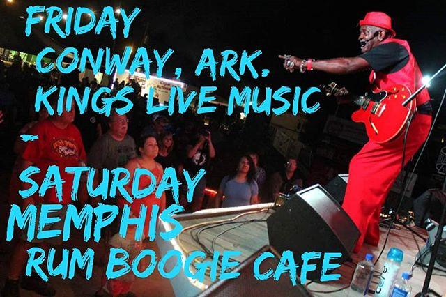 We're touring down south this weekend. NORMAN'S BIRTHDAY SHOWS FRI @kingslivemusic @conwayarkansas  SAT @rumboogiecafe Memphis  TheNormanJacksonBand.com