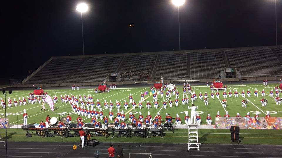 Marching Band: - * Visual Programming* CG Visual Programming* In-Depth Consultation* Prop Design* Front/Back Drop Design* Concept/Theme Design* Concept/Theme Consultant* Band Body/Choreography