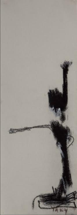 """Jacqueline Bonacic-Doric, Yaky, Serie """"Mis papeles"""". Pastel sobre papel"""
