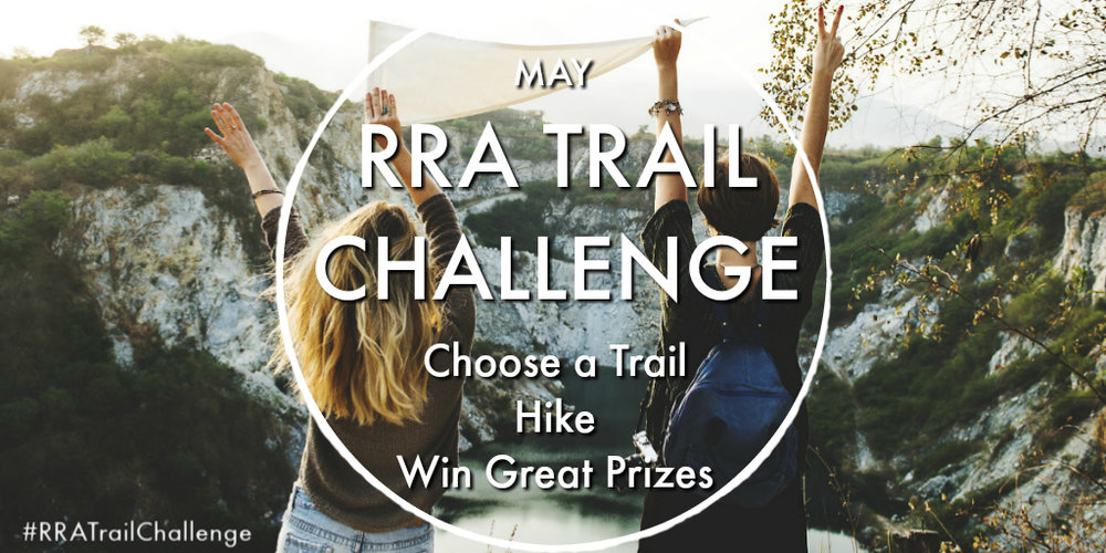 Dust off your hiking boots! - The RRA Trail Challenge is back and better than before! This is your chance to win some great prizes and to claim the title of RRA Trail Challenge Champion!We have four weekly prizes and one grand prize on the line for those of you who are fierce enough to tackle the trails in Greater Sudbury and hike more kilometers than everyone else!The #RRATrailChallenge starts on May 1, 2019 and runs until May 31, 2019. Follow the rules below to join the challenge.
