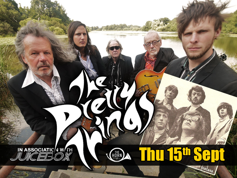 "THE PRETTY THINGS ( https://www.facebook.com/pages/The-Pretty-Things/109518312408342 ) After more than 45 years of continuous service, The Pretty Things remain a significant, challenging force in rock and roll. Despite their veteran status, their contemporary relevance, undiminished energy & inspirational commitment inspire emerging generations of new artists and young fans, whilst retaining their devoted, fanatical, core fan base. Their career is a tribute to righteous, unswerving convictions, always chosen over a quick buck. It is no surprise that guitarist Dick Taylor chose to leave The Rolling Stones, which he had formed with Mick & Keith, to pursue a more raw level of energy with The Pretty Things. And they still retain that energy, as befits one of this country's most exciting live acts, whilst their recordings and song-writing maintain the same levels of inspiration and innovation that were set back in 1964, with the world's first and best ever ""Garage"" anthem – ""Rosalyn""."
