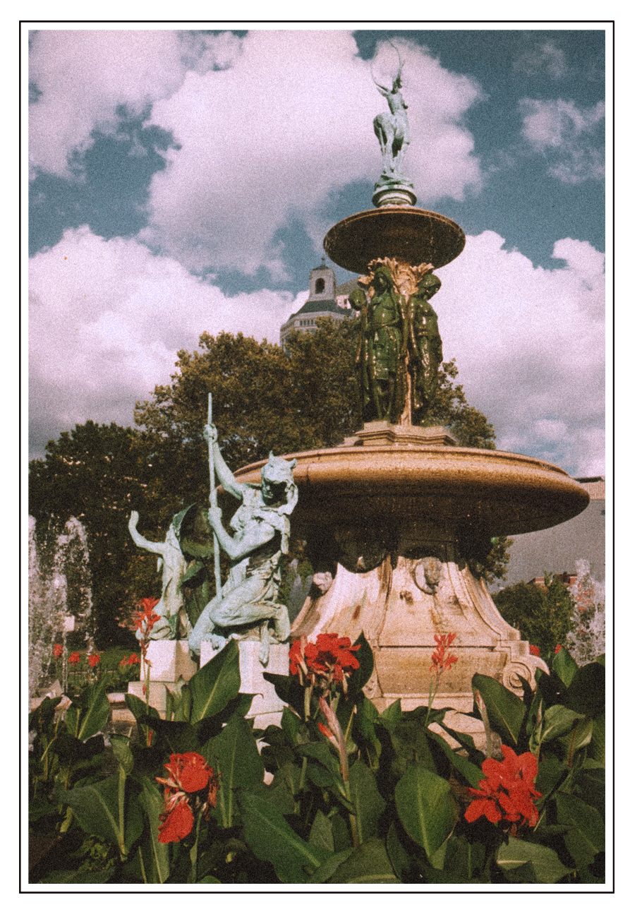 Corning Fountain - Bushnell Park Hartford,CT.  1997