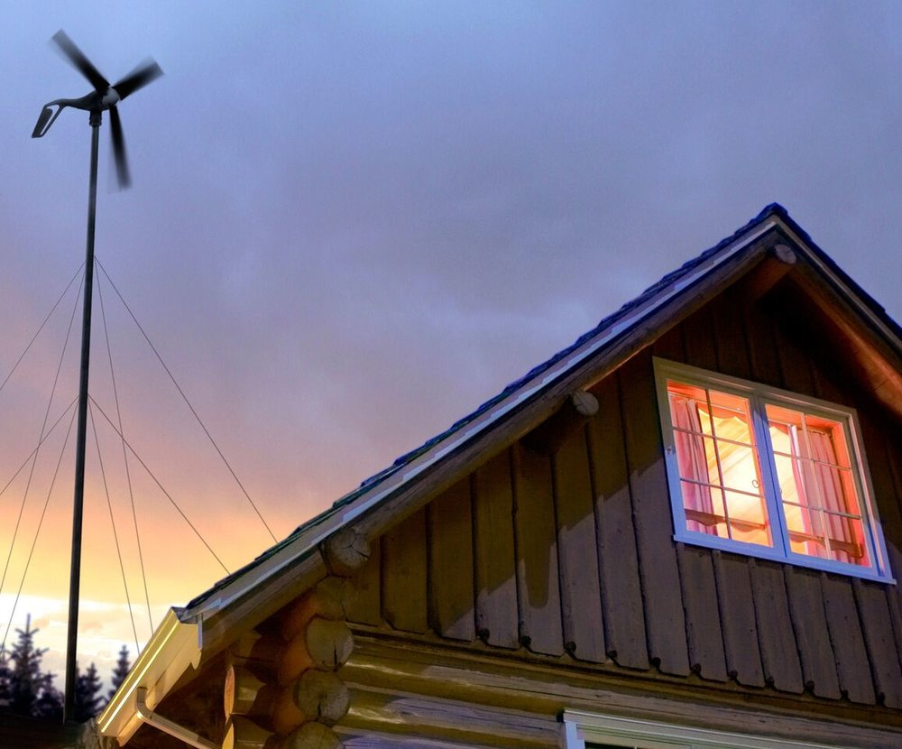 Primus Windpower Air WInd Turbine Cabin | Tiny House Solar Kit | Tiny Life Supply.jpg