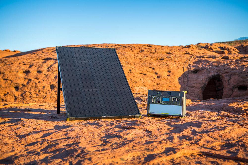 Boulder 100 Lifestyle 1 | Tiny Solar Generator | Tiny Life Supply.jpeg