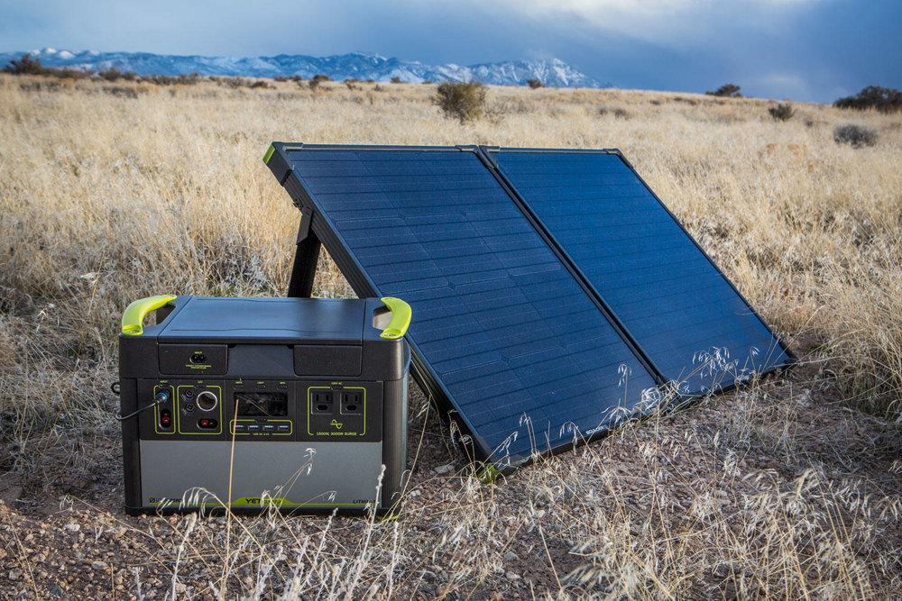 Goal Zero Boulder 100 Briefcase Lifestyle 4 | Tiny Solar Panel | Tiny Life Supply.jpeg