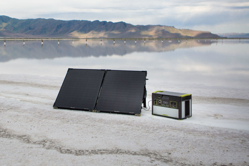 Goal Zero Boulder 100 Briefcase Lifestyle 6 | Tiny Solar Panel | Tiny Life Supply.jpeg