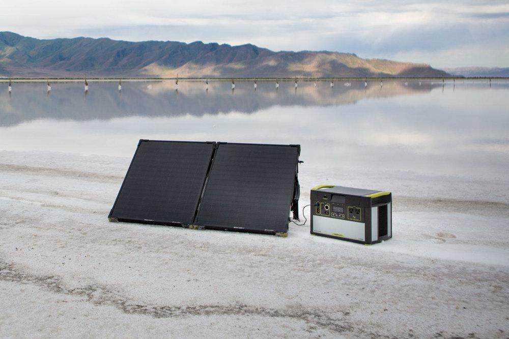 Goal Zero Boulder 100 Briefcase Lifestyle 6 | Tiny Solar Panel | Tiny Life Supply.jpeg
